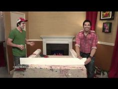Frank Fontana on How to Make and Decorate a Fake Fireplace Mantel
