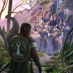 For all things Tolkien, Lord of The Rings, and The Hobbit . Le Hobbit Thorin, Hobbit Art, Legolas, Thranduil, Gandalf, Fantasy Magic, Fantasy World, Fantasy Art, Jrr Tolkien