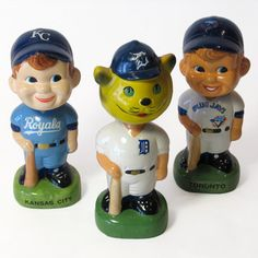 Baseball Bobble Heads 3 now featured on Fab.