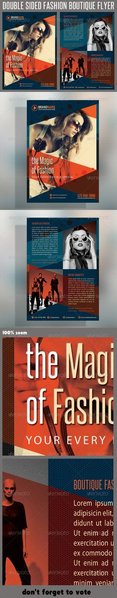 Fashion Product Flyer 03 #GraphicRiver The Pack included: 2 PSD files Double side flyer A5 – 148×210mm 154×216mm Print size 5.9×8.3 inches Print Ready CMYK, 300dpi High Quality Bleeds, Guidlines, safe lines Highly Organised Layers Clean Design Preview Images are not included in the download. Editable Logo included Read me file (included instrucions) Fonts Required: .dafont /steelfish.font Myriad –
