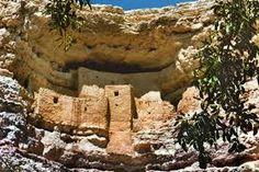 Montezuma's Castle Arizona.