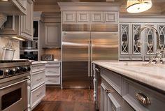 Kitchen Appliances: Fridge is a Viking 36″ Integrated Refrigerator and 30″ Integrated Freezer. Range is a Viking 48″ Sealed Burner Pro Style...