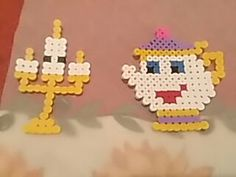 Beauty and the beast PYSSLA beads.
