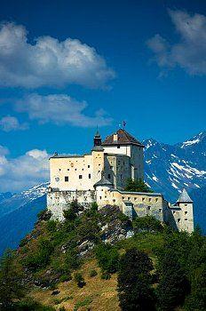 Tarasp Castle, Canton of Graubünden, Switzerland