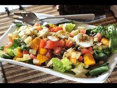 Ensalada Colombiana - Recetas de ensaladas - Recetas de cocina - YouTube