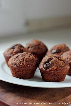 Des muffins tout chocolat. Un délice!