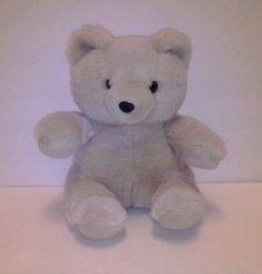 "Asi+62960+Teddy+Bear+Light+Beige+Plush+Stuffed+Animal+Toy+9+1/2""+Gently+Used+#Asi"