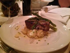 Filet Mignon grilled with a beurre blanc sauce
