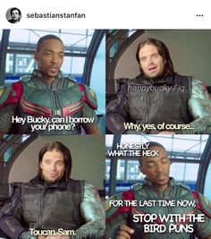They need their own movie << or even just short clips like what they did with Thor and what he was doing during civil war. Something totally just for the heck of it because why not