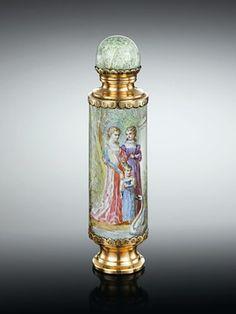 Dutch perfume bottles | Antique Enamels, Antique Perfume, Dutch Antiques ~
