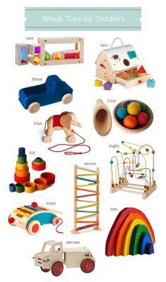 Wood toys for toddlers, and why I stopped buying electronic toys   Hellobee
