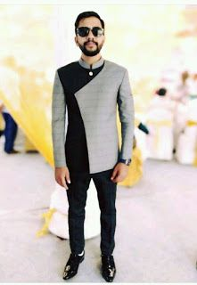 For my dearest husband African Wear Styles For Men, African Shirts For Men, African Dresses Men, African Attire For Men, African Clothing For Men, Nigerian Men Fashion, Indian Men Fashion, Mens Fashion Suits, Designer Suits For Men