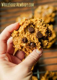 Whole Foods...New Body!: {Pumpkin Spice Oatmeal Breakfast Cookies}