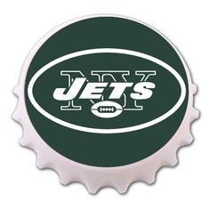 New York Jets Cork and Bottle Holder