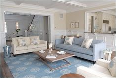 Interiors with a beach theme | Roomspiration: Beach Style | The Design Fairy Blog