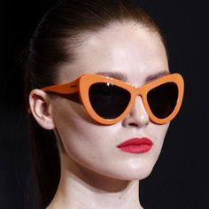 Bright Cat Eyes from the Nicole Farhi Collection