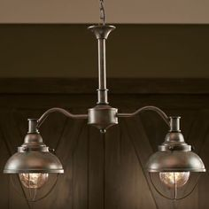 Grand River Lodge™ Fisherman's Two-Light Islander at Cabela's $140 -- lots of personality for an over-island light!