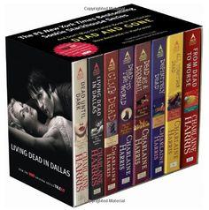 Sookie Stackhouse novels!  I am addicted!
