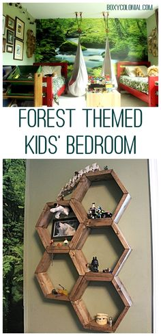 woodland fairy theme bedroom decorating-fairy forest themed ...
