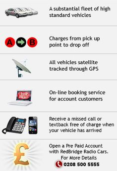 Redbridge Radio cars | Mini cabs East London | Airport transfers East London