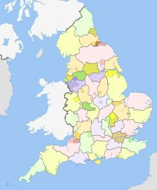 Counties of England