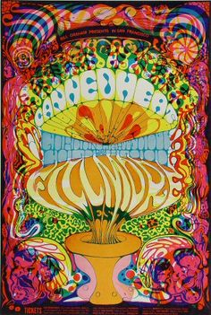 Canned Heat Poster - Rock posters, concert posters, and vintage posters from the Fillmore, Fillmore East, Winterland, Grande Ballroom, Armadillo World Headquarters, The Ark, The Bank, Kaleidoscope Club, Shrine Auditorium and Avalon Ballroom.