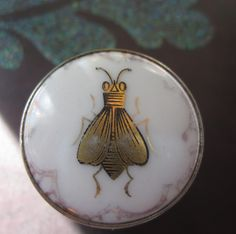 Vintage pill box - the bee was one of Napoleon's symbols