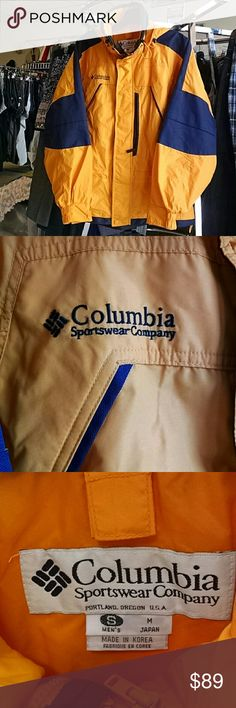 Columbia Weatherproof Jacket Mens Small Columbia Weatherproof Jacket Men's small in like new  condition. Columbia Jackets & Coats Performance Jackets