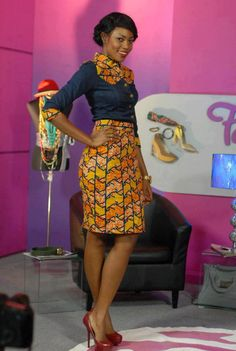 Ghanaian actress, Yvonne Nelson ~African Prints, African women dresses, African fashion styles, african clothing