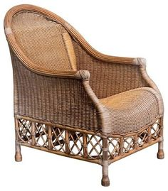 Rattan Chair from Human Arts contemporary-chairs