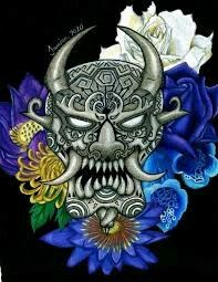 Image detail for -hannya mask by traditional art drawings other 2010 2013 . Japan Tattoo, Mascara Hannya, Tattoo Mascara, Japanese Hannya Mask, Hannya Tattoo, African Masks, Tattoo Studio, Traditional Art, Tatting