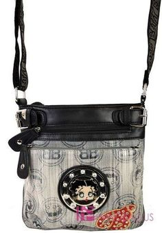 'Betty Boop handbag' is going up for auction at  9pm Sat, Feb 23 with a starting bid of $35.