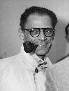 Arthur Asher Miller (October 17, 1915 – February 10, 2005)was an American playwright and essayist. He was a prominent figure in American theatre, writing dramas that include plays such as All My Sons (1947), Death of a Salesman (1949), The Crucible (1953) and A View from the Bridge (one-act, 1955; revised two-act, 1956).  Miller was often in the public eye, particularly during the late 1940s, 1950s and early 1960s, a period during which he  received the Pulitzer Prize for Drama