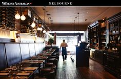 Few would dispute Melbourne's claim to be the nation's cultural capital, but the depth and range of its offering is astounding. Restaurant Marketing, Hospitality, Melbourne, Restaurants, Australia, Range, Ceiling Lights, Home Decor, Cookers