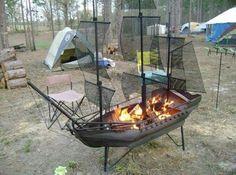 #Pirateship fire pit