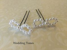 Wedding Tones: DIY: Handmade Bridal Bobby Pins With Pearls Real Pearls, Evil Eye Necklace, Handmade Copper, Flower Necklace, Handmade Flowers, Pearl Beads, Leather Cord, Diy Jewelry, Bobby Pins