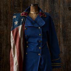 Vintage RL military inspired coat