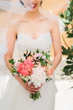 Real Wedding Inspiration: Amanda + James' Lovely, Lush Casa Loma Wedding | Gown: Lea-Ann Belter Camille via Lea-Ann Belter Toronto Bridal Boutique | Image: Lisa Mark Photography