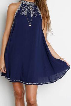 442f166d76e9 OTR Finn Dress Short Boho Dress