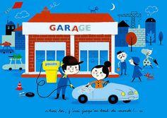 Carte garage - Aurélie Guillerey