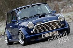 Modified Austin Mini Supercharged 1998 Pictures