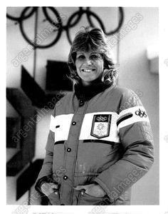 Donna De Varona ABC Olympics Press Photo, 1984 Winter Olympics 1984 Winter Olympics, Golden Hall, Winter Games, Great Women, Press Photo, Sexy, Sports, People, Jackets