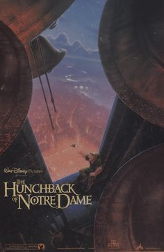 Walt Disney's The Hunchback of Notre Dame Movie Poster jigsaw puzzle. It's an out-of-production 300 piece puzzle with large pieces.