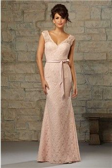 c635e57062d Trumpet Mermaid V-neck Floor-length Lace Bridesmaids Dress Spring Bridesmaid  Dresses