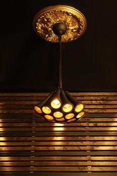 PARIS chandelier black & gold