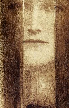 The Veil by Fernand Khnopff, 1909