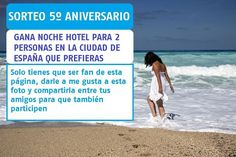 Nuestro blog cumple 5 años y lo queremos celebrar sorteando una noche de hotel... donde quieras! Bases aquí:  http://ift.tt/2oOG4BC