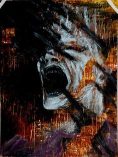 Multimedia Francis Bacon style self-potrait. Francis Bacon self-portrait Arte Horror, Horror Art, Francis Bacon Self Portrait, Dark Fantasy, Fantasy Art, Robert Motherwell, Cy Twombly, Richard Diebenkorn, A Level Art