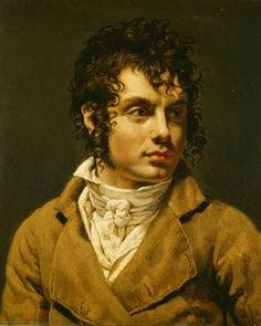 Portrait of a Young Man, Anne Louis Girodet de Roussy-Trioson