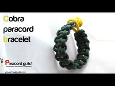 The most common paracord bracelet design.